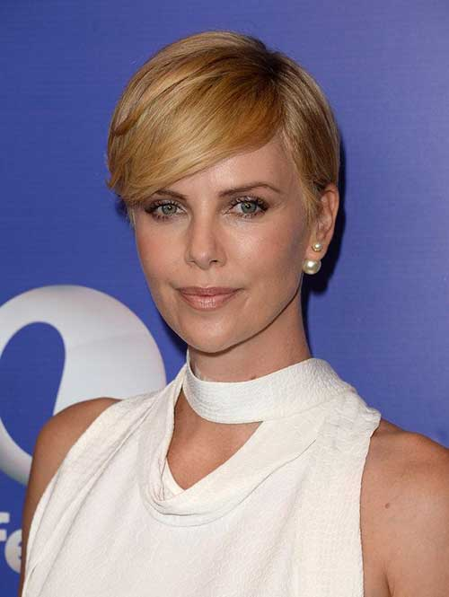 15 Charlize Theron Pixie Cuts