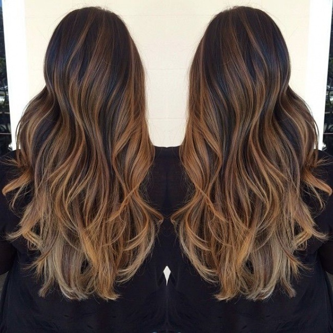 Zobelreflexion: Eine neue Trendy Color Hair Attempt New Season