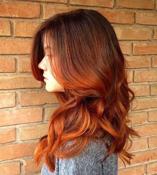 Aburn Hair: Der Trend Timeless and Beautiful Color, 21 Models sind der Beweis!