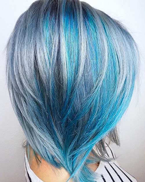 Haarfarbe Blau Perfect Haarfarbe Blau With Haarfarbe Blau